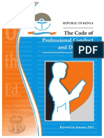 Code of Professional Conduct and Discipline 6th Edition