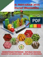 Statistik Pertanian 2016