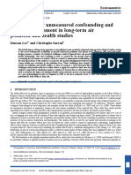 Bg Zal 2015_Controlling for Unmeasured Confounding And