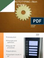 98160440 Rapid Prototyping