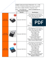 Catalogue of thermal printer - Shenzhen Zjiang Electronics Co., Ltd - 2017