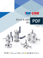 Double Block and Bleed Valves