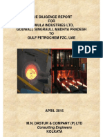 TIL Due Diligence and Valuation Report by M N Dastur April 2015