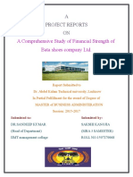 MBA Project Report