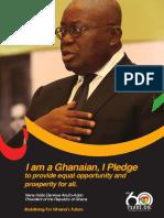 I Pledge Flyer - Ghana@60 Celebration
