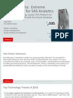 Exadata for Sas Analytics 3011202