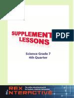 Science HS Grade 7 4rth Q