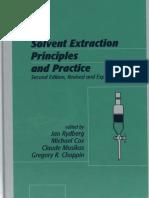 Solvent Extraction Principles and Practice 2nd Ed - Jan Rydberg Et Al. (Marcel Dekker, 2004)