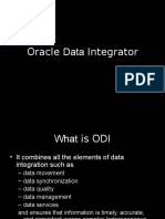 Intro to Oracle Data Integrator