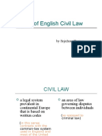 Unit 29 - Types of English Civil Law11