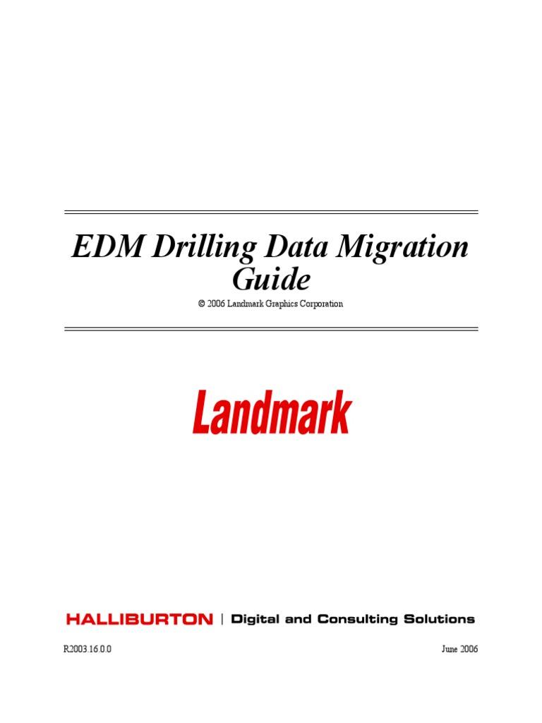 edm drilling datamigration oracle database databases rh scribd com