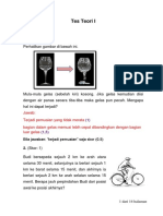 Marking Scheme - Teori I
