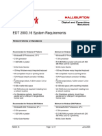 EDT SystemRequirements