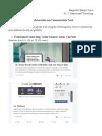 3.7 CollaborationandCommunicationTools