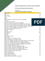 tabella dei contenuti di vit   k negli alimenti