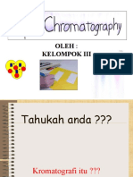 Kromatografi Kertas Kelompok III