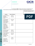 computing sheet