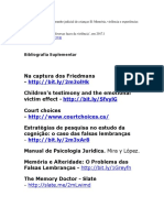 PUC-Rio. O testemunho judicial de crianças II