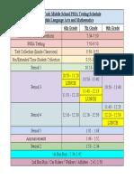 eymselaandmathpssatestingschedule