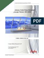 Global Antimony Oxide Flame Retardant Synergist Market