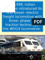 HHP Locomotive Introduction - Electrical