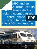 HHP Locomotive Introduction - Electrical
