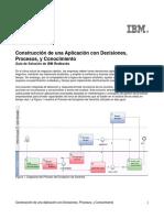 Construccion de Una Aplicacion Con Decisiones Procesos y Conocimiento IBM RedBook Tips0940_es