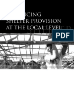 Enhancing Shelter Provision at the Local Level
