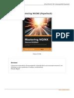 Book Mastering Nginx Paperback