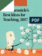 Best Ideas for Teaching 2017
