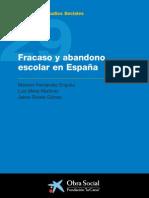 Fracaso y abandono escolar en España