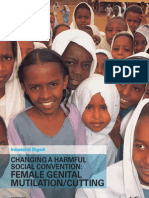 Changing a Harmful Social Convention - Female Genital Mutilation