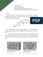 Cara Kerja Analisis Amin Primer Dengan Reaksi Ehrlich