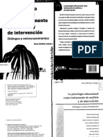 La Psicologia Educacional Como Instrumento de Analisis y de Intervencion - ELICHIRY PDF