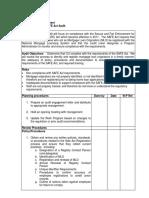 Safe Act Registration Work Program