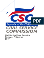 Civil Service Exam Complete Reviewer Philippines 2017