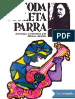 Alcalde, Alfonso- Toda Violeta Parra