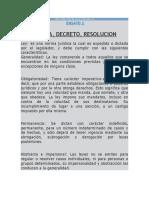 Ley Decreto Resolucion Norma