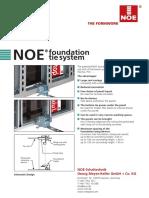 NOEtop Fundament-Verspannung En