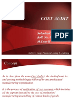 Cost Audit Full