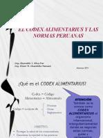Codex y Normas