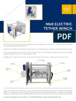 Mk8 Electric Tether Winch