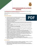 Anexo 5 (Régimen Disciplinario)