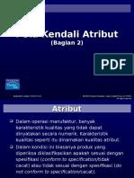 Peta Kendali Atribut