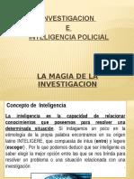 Inteligencia Policial e Información