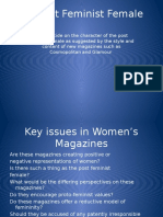 the magazine industry powerpoint post feminism