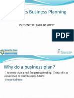 Aquaponics Business Planning Paul Barrett