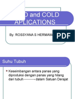 Head and Cold Aplications