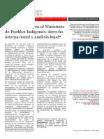 Analisis Proyecto Ministerio de Pueblos Indígenas BCN
