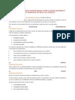 Outils de Réflexion Stratégique Pour Le Développement Des Missions Au Sein Du Cabinet